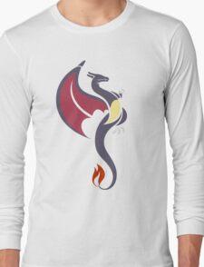 Blazing Flame - Shiny Charizard Long Sleeve T-Shirt
