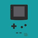 Gameboy Iphone Case Blue by triforce15