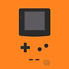 Gameboy Iphone Case Orange by triforce15