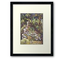 Ellenborough River - plein air Framed Print