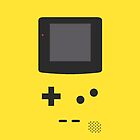Gameboy Iphone Case Yellow by triforce15