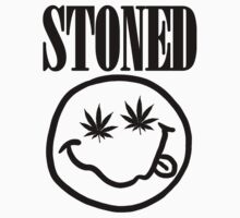 Stoned - black on white by fagbitch