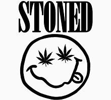 Stoned - black on white T-Shirt