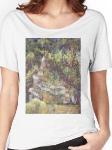 Ellenborough River - plein air Women's Relaxed Fit T-Shirt