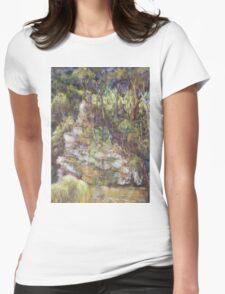 Ellenborough River - plein air Womens Fitted T-Shirt
