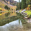 Wenatchee River fall colors by Mike  Kinney