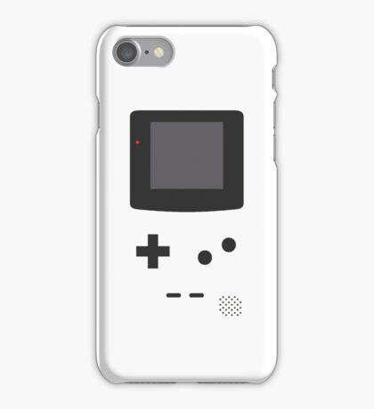 Gameboy Iphone Case White iPhone Case/Skin