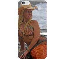 Cowgirl Mermaid iPhone Case/Skin