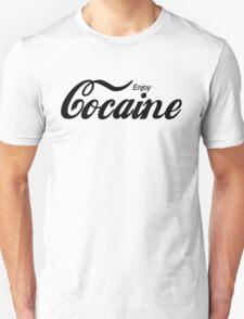 Enjoy Cocaine - white T-Shirt