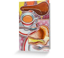 Eroica Britannia and Bakewell Pudding on Pink Greeting Card