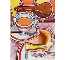 Eroica Britannia and Bakewell Pudding on Pink Photographic Print