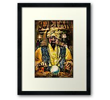 Zoltar Speaks Framed Print