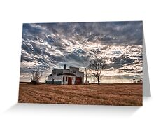 Rural Decay Greeting Card
