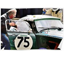 Austin Healey No 75 Poster