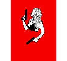Blonde Kill Photographic Print