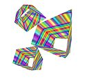 Rainbow abstract by CiaoBella