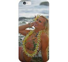 Mermaid with Lei iPhone Case/Skin