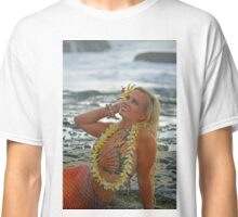 Mermaid with Lei Classic T-Shirt