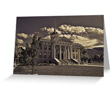 Box Elder County Courthouse #2 Greeting Card
