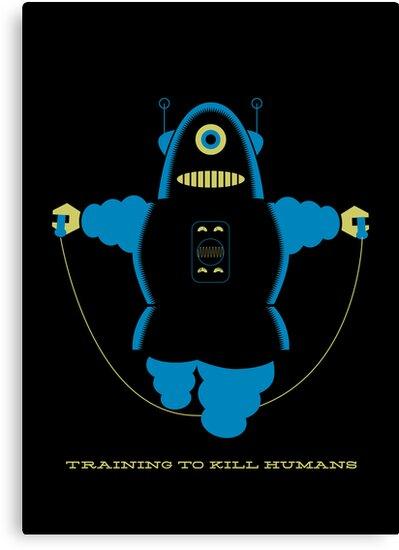 Kill Humans 4 by Marco Recuero