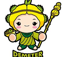 Agricultural goddess Demeter  by Boians