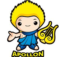 Apollo, the god of the sun by Boians