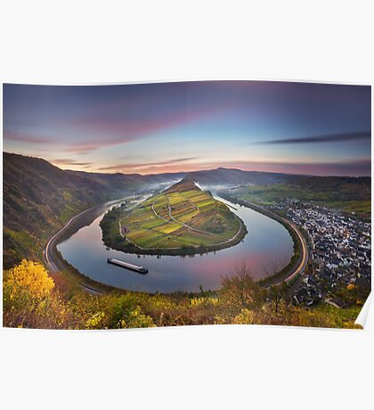 Mosel Bend Poster