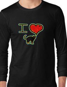 i love black cats Long Sleeve T-Shirt