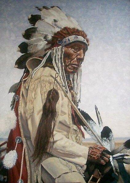 Native American by Matart