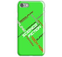IndieSFF Science Fiction Word Cloud iPhone Case/Skin