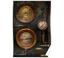 Steampunk - Plumbing - Gauging success Poster