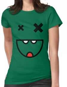 mr smiles Womens Fitted T-Shirt