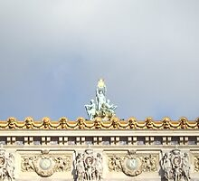 Une Statue de l'Opera Garnier 2 by travisferrell
