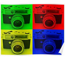4 COLORS CAMERA Poster
