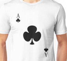 ace of clubs Unisex T-Shirt