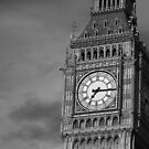 Big Ben 3 B&W by photonista