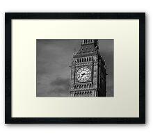 Big Ben 3 B&W Framed Print