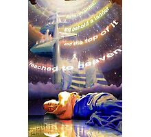 Jacob's Ladder : And he dreamed... Photographic Print