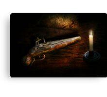 Gun - Pistol - Romance of pirateering Canvas Print