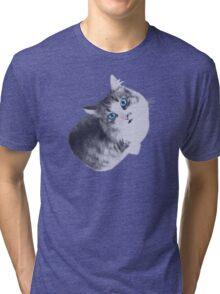 Maya the Cat Tri-blend T-Shirt
