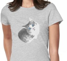 Maya the Cat Womens Fitted T-Shirt