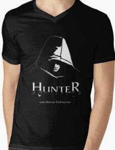 HUNTER BW TShirt Mens V-Neck T-Shirt