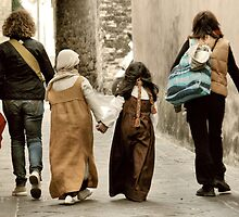 Best Friends Forever2-San Gemini, Italy by Deborah Downes