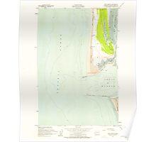 USGS Topo Map Washington State WA Point Brown 243161 1955 24000 Poster