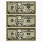 Ben Bernanke Billions Stickers by LibertyManiacs
