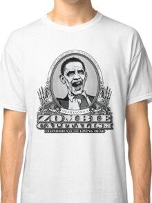 Zombie Economics Obama Edition Classic T-Shirt