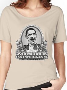 Zombie Economics Obama Edition Women's Relaxed Fit T-Shirt