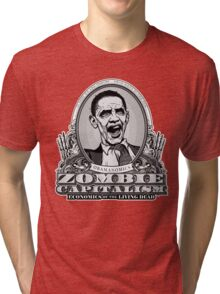 Zombie Economics Obama Edition Tri-blend T-Shirt