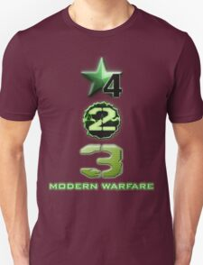 Modern Warfare is Best COD T-Shirt