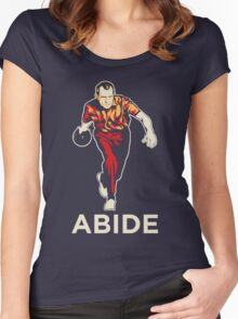 Nixon Bowling Abide Women's Fitted Scoop T-Shirt